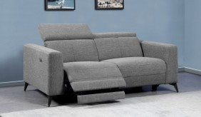 Palazzo 3 Seater Fabric Recliner Sofa