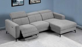 Palazzo Fabric Corner Recliner Sofa