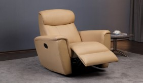 Savio Leather Recliner Armchair
