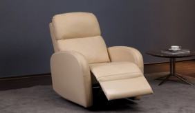 Sergio Leather Recliner Armchair