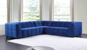 Squidoo Velvet Modular Sofa