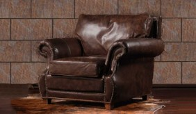 Tankerville Antique Leather - Armchair