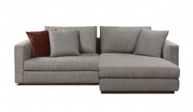 Tonini Fabric Small L Shape Sofa