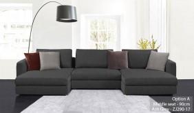 Tonini Fabric U-Shape Sofa