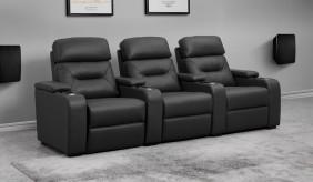 Universal Ultimate 3 Cinema Chairs - Dual Motor