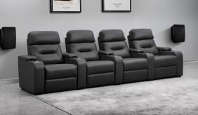 Universal Ultimate 4 Cinema Chairs - Dual Motor
