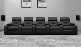 Universal Ultimate 5 Cinema Chairs - Dual Motor