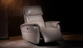 Malmo Cream Electric Recliner Armchair