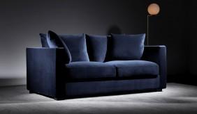 Violin 2 Seater Velvet Sofa
