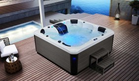 Sanctuary Deluxe 6 Seater Hot Tub