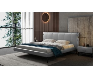 Cavani Leather Bed