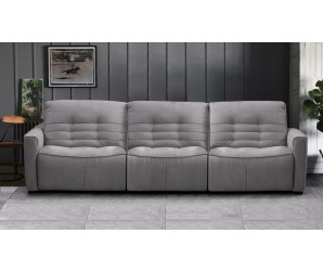 Rosetta 4 Seater Fabric Recliner Sofa