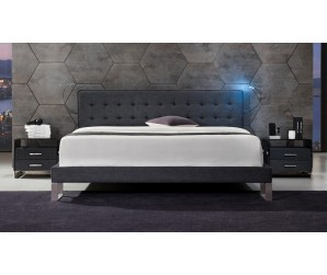 Deco Semi-Tufted Multifunctional Bed