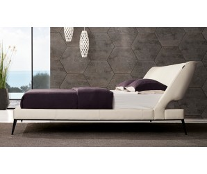 San Remo Leather Bed