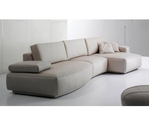 Orval Leather Modular Sofa
