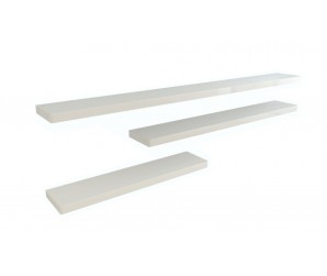 Ikon Floating Shelf - 166cm - White