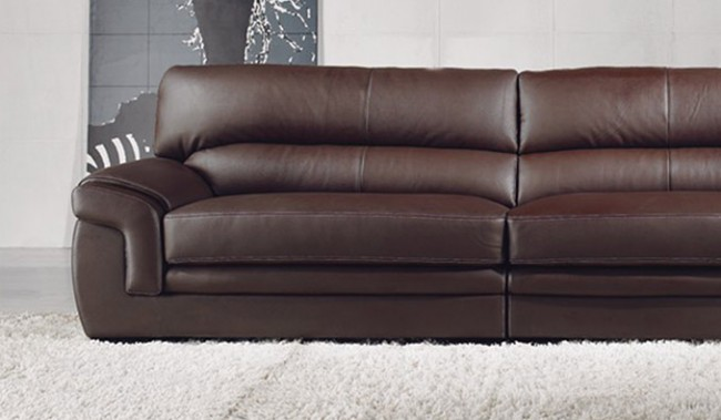 Bachelli Leather Sofa 4 Seater Delux Deco Furniture