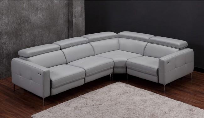 Certosa Electric Recliner Modular Sofa Console Luxury Top