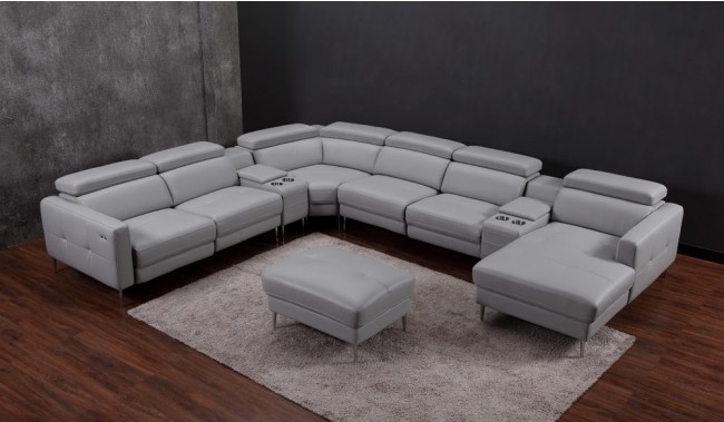 certosa electric recliner u shape sofa p