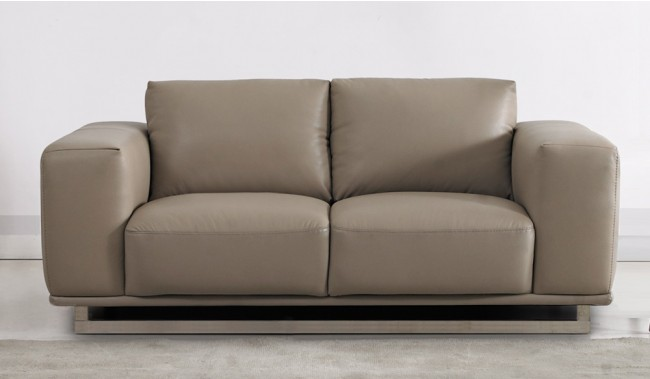 Mobo 2 Seater Leather Sofa 2 Seater Italian Delux Deco