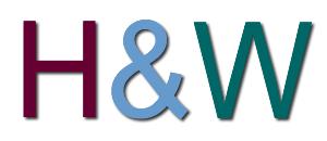 H & W logo