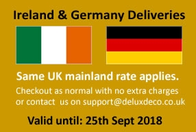 Delivery to Germany & Ireland