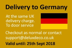 Delivery to Germany at No Extra Charge