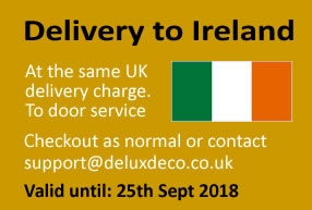 Delivery to Ireland at No Extra Charge