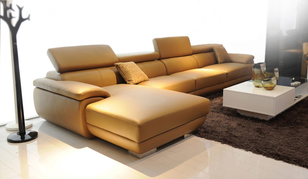 Vinelli Leather Modular Sofa main